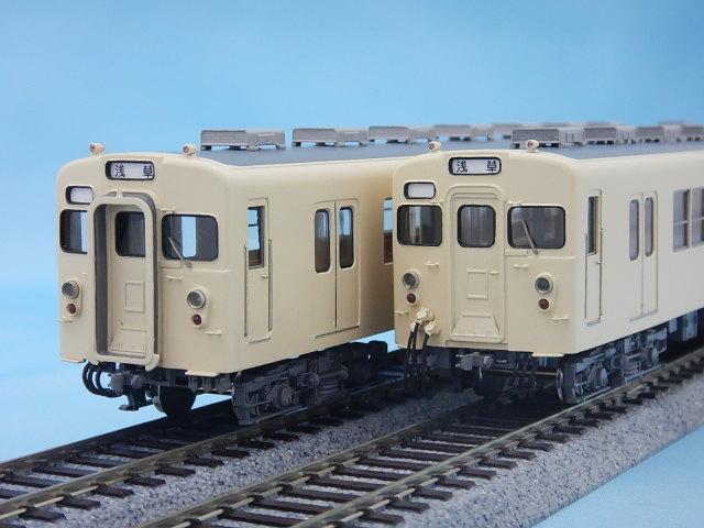 【添付品取付済】東武8000系 非冷房 クリーム 4両編成セット