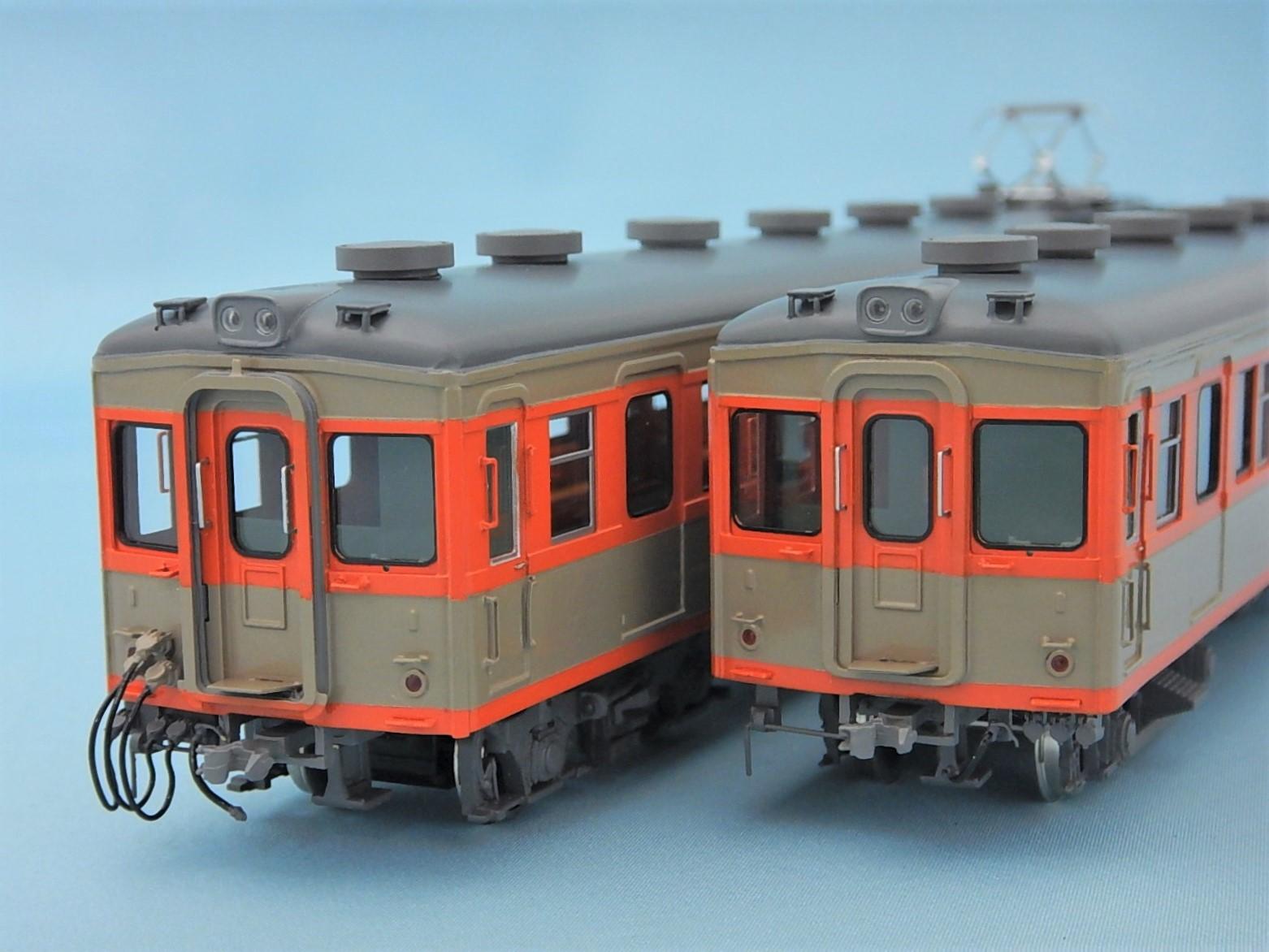 東武7300系 旧ツートンカラー 2両編成セット