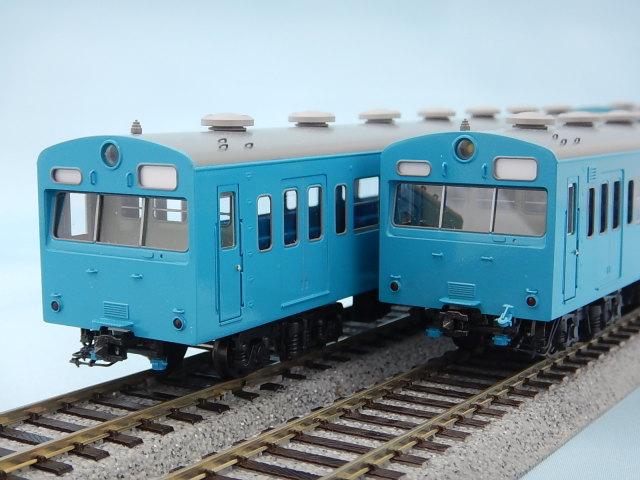 103系低運転台 京浜東北線 非冷房 基本3両Fセット