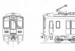 阪急9000系8両編成キット