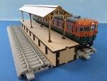 カツミクラフト 島式ホーム(陸屋根)