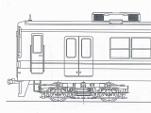 東武8000系 初期前面更新車 4両編成キット