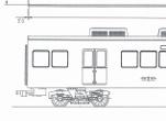 阪急5300系 4個クーラー 中間2両キット