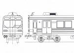 東急8090系・東横線・増備車 8両キット