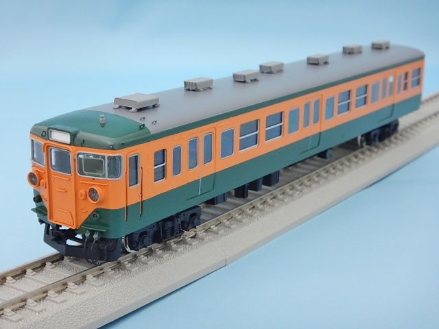 クハ111-300 神戸寄 初期車 非冷房 湘南色 押込ベンチレーター