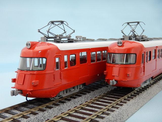名鉄3400系 スカーレット 4両編成セット