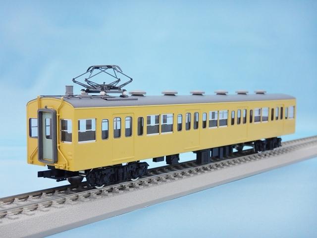 モハ100 非冷房・黄色