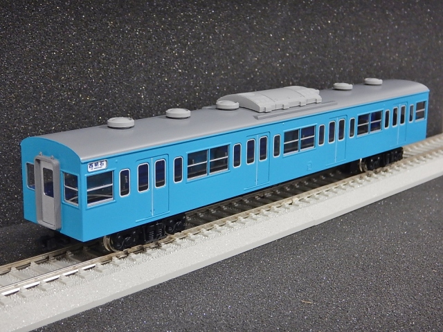 サハ103 東海道緩行l線色