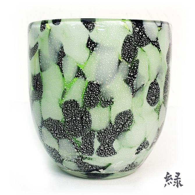 琉球ガラス「石畳グラス」