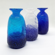 とっくり 徳利 日本酒 酒器 冷酒 琉球ガラス グラス コバルト徳利
