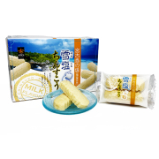 ちんすこう 宮古島の塩 沖縄 お土産 雪塩ちんすこう ミルク風味 小 12袋入