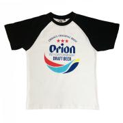 オリオンビール コラボ T-SHIRTS メンズ 半袖 綿100% コットン オリオン Tシャツ ツートン