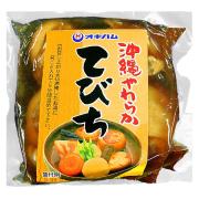 沖縄 お土産 豚足 ゼラチン豊富 骨ごと輪切り 沖縄やわらか てびち 370g 冷蔵