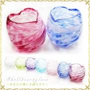 結婚祝いのおすすめグラス!琉球グラス/シェルハートグラス