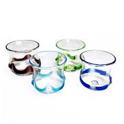 琉球ガラス グラス コップ 誕生日 冷茶グラス プレゼント おしゃれ 沖縄 お土産 ギフト ビールグラス ビアグラス 波線丸グラス