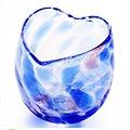 ハートの琉球ガラス