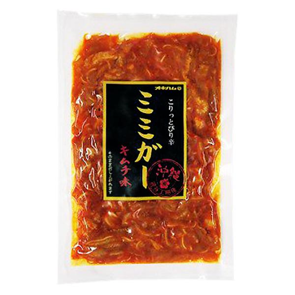 沖縄 お土産 豚耳皮 お取り寄せ グルメ 蛋白質 コラーゲン豊富 ミミガー キムチ味 150g 冷蔵