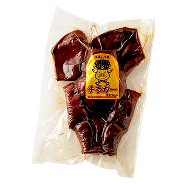 沖縄 お土産 豚の顔の皮 お取り寄せ グルメ 蛋白質 コラーゲン豊富 味付チラガー 1枚 冷蔵