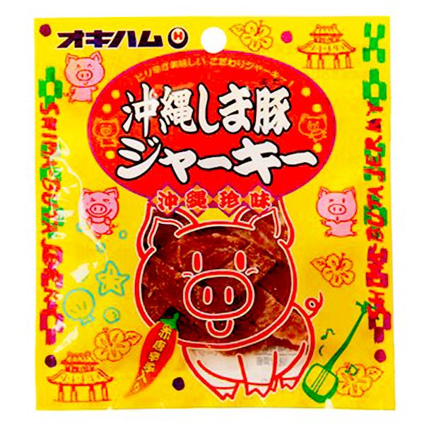 沖縄 お土産 おつまみ おやつ お取り寄せ グルメ 沖縄珍味 しま豚ジャーキー 小 12g
