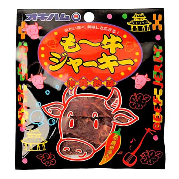 沖縄 お土産 ジャーキー おつまみ おやつ お取り寄せ グルメ 沖縄珍味 もー牛ジャーキー 10g