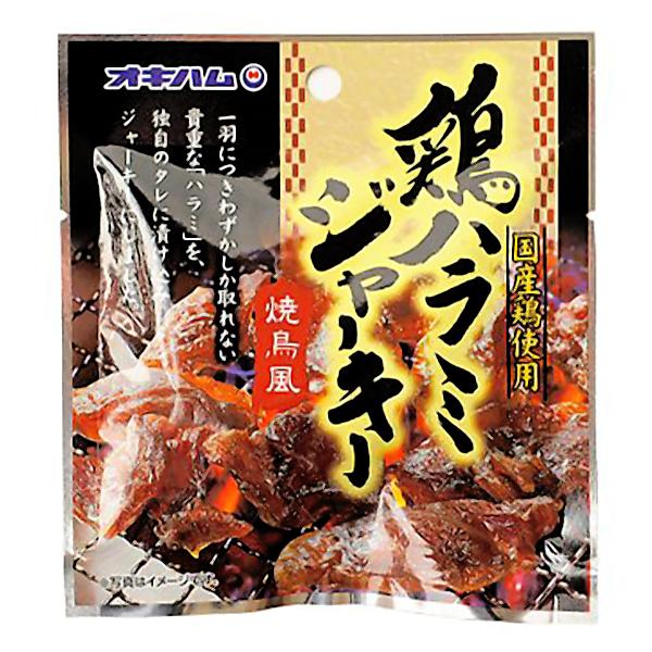 沖縄 お土産 鶏 ハラミ ジャーキー おつまみ おやつ お取り寄せ グルメ 沖縄珍味 鶏ハラミジャーキー 20g