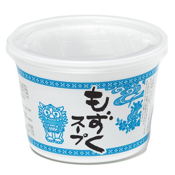 沖縄 お土産 沖縄県産もずくとわかめ使用 お湯を注ぐだけ 手軽 即席スープ カップ もずくスープ 5g