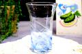 琉球ガラス グラス さざ波ビアグラス