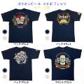 オリオンビール コラボ tシャツ T-SHIRTS メンズ スラブ天竺 半袖 沖縄 お土産 綿100% コットン オリオン オリジナル Tシャツ S-XXL