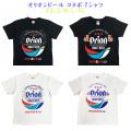 オリオンビール コラボ tシャツ T-SHIRTS メンズ 半袖 沖縄 お土産 綿100% オリオン オリジナル BIGロゴ Tシャツ XS-XL