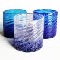 琉球ガラス グラス コップ 誕生日 プレゼント 男性 女性 おしゃれ 沖縄 お土産 ギフト ロック コバルトモールロックグラス
