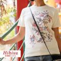 紅型風Tシャツ/ヒビス