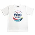オリオンビール コラボ T-SHIRTS メンズ 半袖 オリオン ドライTシャツ 白