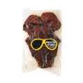 沖縄 お土産 コラーゲン豊富 ブラック チラガー しょうゆ味 1枚
