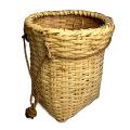 竹ビク 腰ビク 竹 伝統 工芸品 竹かご 籠 魚籠 ビク 大