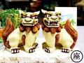 大獅子シーサー/茶
