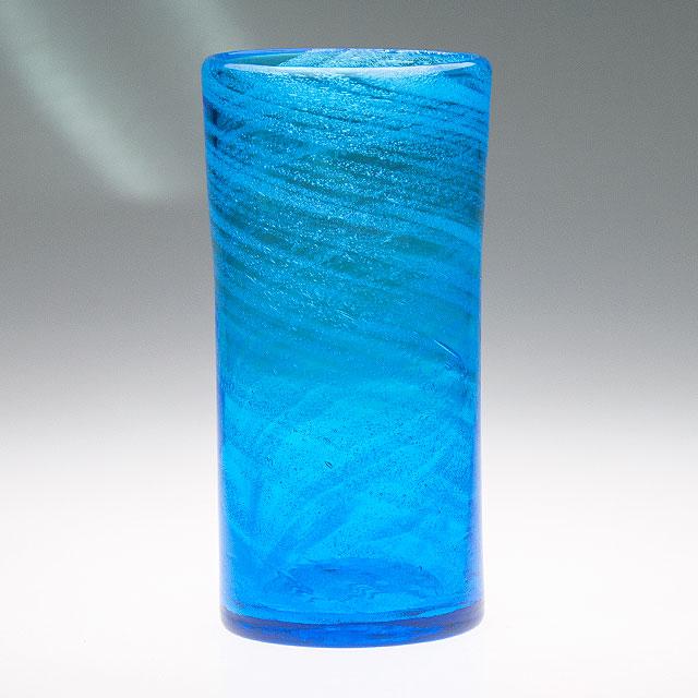 琉球ガラス グラス コップ 誕生日 プレゼント 男性 女性 おしゃれ 沖縄 お土産 ギフト ロック 海の泡ロンググラス