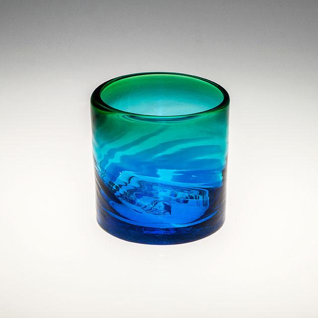 琉球ガラス グラス コップ 誕生日 プレゼント 男性 女性 おしゃれ 沖縄 お土産 ギフト ロックグラス イラブチャー モールロックグラス ライン入り
