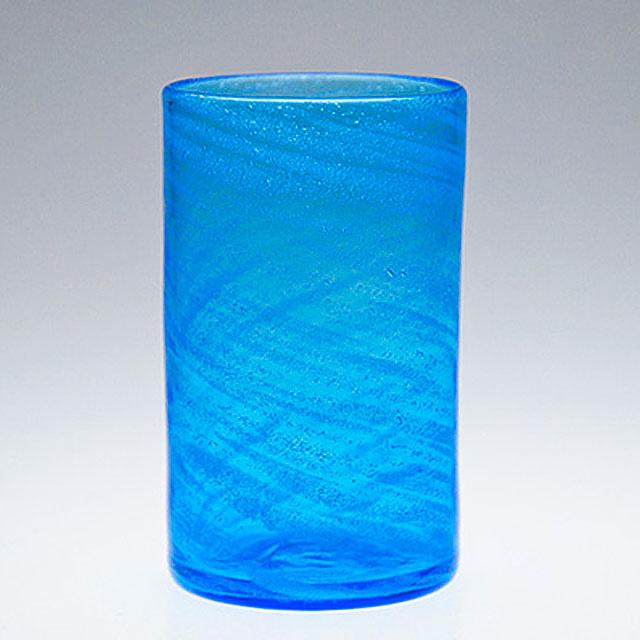 琉球ガラス グラス コップ 誕生日 プレゼント 男性 女性 おしゃれ 沖縄 お土産 ギフト ロック 海の泡ストレートグラス