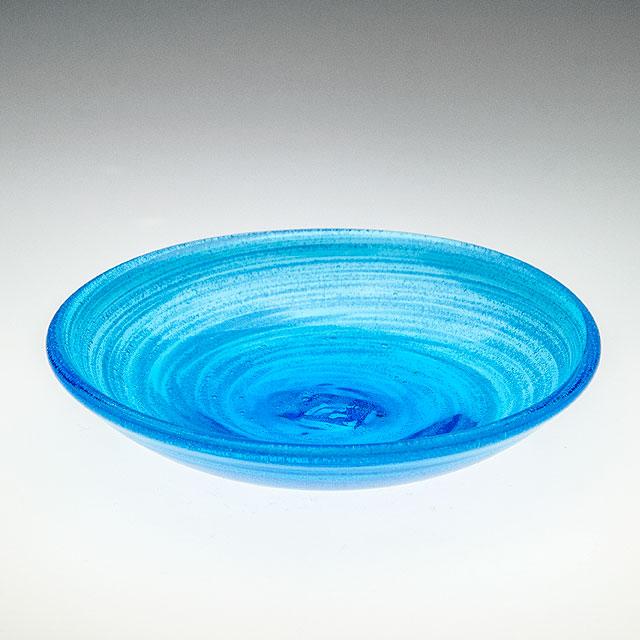 小皿 おしゃれ かわいい 琉球ガラス 5寸皿 15cm 取り皿 副菜 豆皿 海の泡小皿