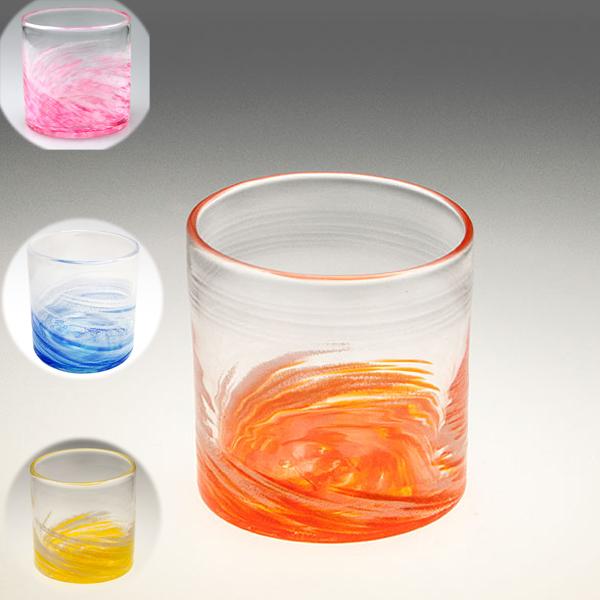 琉球ガラス グラス コップ 誕生日 プレゼント 男性 女性 おしゃれ 沖縄 お土産 ギフト ロック さざ波ロックグラス