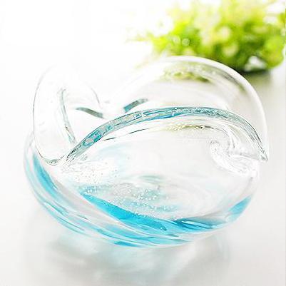 琉球ガラス/海蛍灰皿