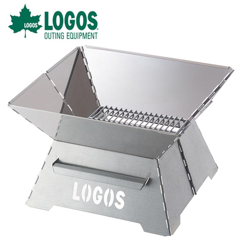 ロゴス logos LOGOS ROSY たき火台 81064050 たき火 焚火台 焚き火台  コンパクト収納タイプ ファイヤーピット アウトドア キャンプ バーベキュー BBQ