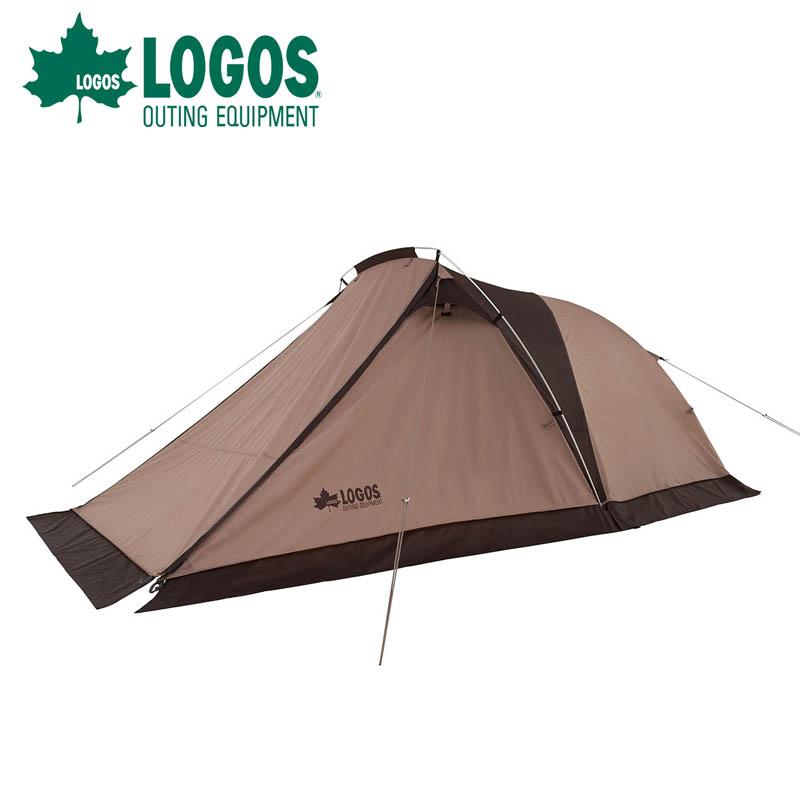 ロゴス logos Tradcanvas ツーリングドゥーブルDUO-BJ2人用 テント バイクも置ける大型前室 コンパクト ツーリング 71805556