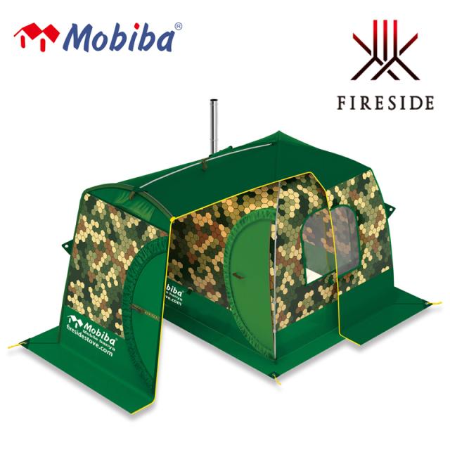 バックパックサウナRB170M用の前室付き囲いテント モビバフライシートRB170M用 27174  サウナ アウトドア