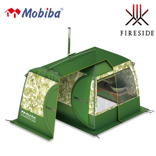 新商品 2021年6月入荷予定 モバイルサウナMB10A用の前室付き囲いテント モビバ フライシートMB10A用 27192  サウナ アウトドア