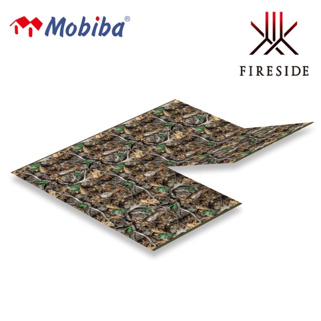 モバイルサウナ MB10A用 モビバ フロアシート 27193 ファイヤーサイド