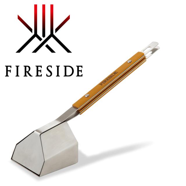 灰シャベルの進化系 薪ストーブや焚火の灰掃除におすすめ ファイヤーサイド アッシュ 48100 灰取り