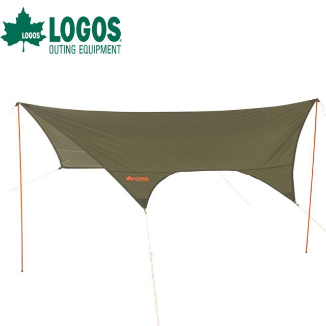 ロゴス logos neos LCドームFitヘキサタープ 4443-AI 71805053 タープ キャンプ アウトドア テント 防水 大きい 耐水圧2000mm UV-CUT加工 スチールポール