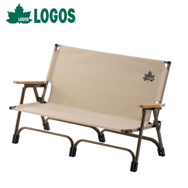 ロゴス logos neos Tradcanvas アッセムチェアfor2 73173124 ロータイプ設計 2人掛けチェア 椅子 イス チェア 座る 組み立て式
