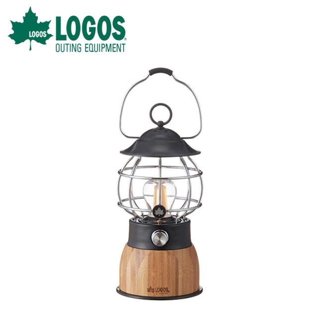 ロゴス logos Bamboo ゆらめき・コテージランタン 74175019 LEDランタン 灯り アウトドア ランタン キャンプ 野電